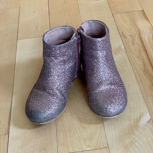 Zara girls glitter boots